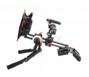 CAME-TV Sony A7S Rigs con Hand Grip Mattebox Follow Focus